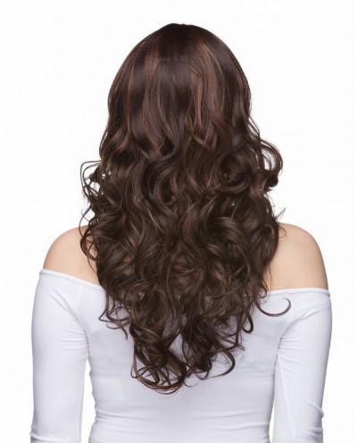 Mane Muse — Perruque synthétique longue cheveux bouclés Everly