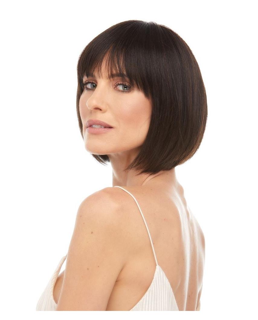 Eleganté — Perruque en cheveux 100% naturels courte au carré Jojo