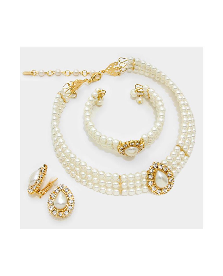 Christina Collection — Parure de bijoux de perles