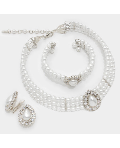 Christina Collection — Parure de bijoux de perles
