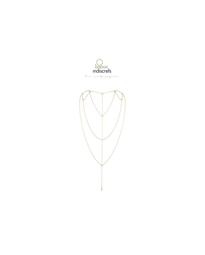 Bijoux Indiscrets — Chaîne de dos et de décolleté
