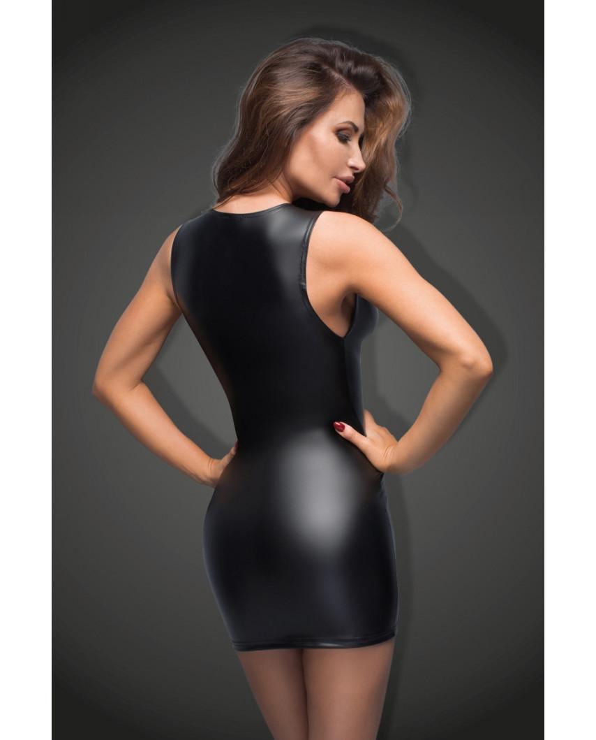 Noir Handmade — Mini-robe à décolleté en dentelle F168