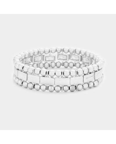Festival — Bracelet métallique extensible à billes