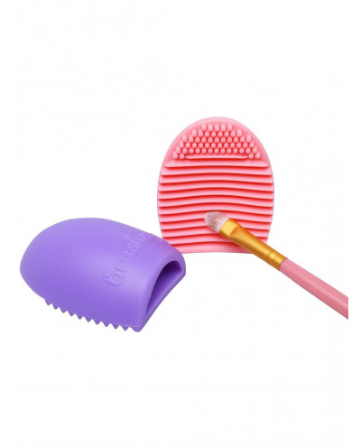 Œuf de nettoyage des pinceaux de maquillage