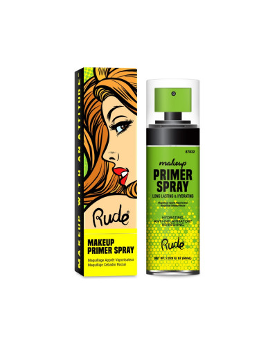 Spray fixateur de maquillage