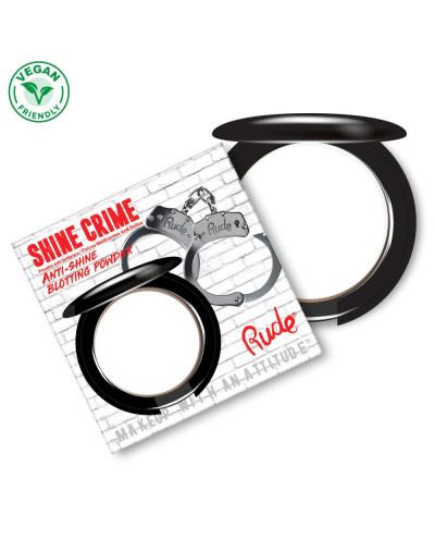 Rude - Poudre compacte anti-brillance Shine Crime