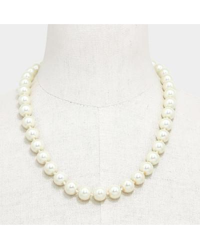 Passion — Collier de perles crème