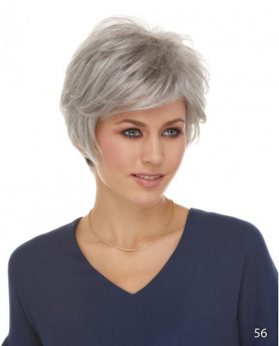 Perruque synthétique courte coupe pixie Josephine (gris)