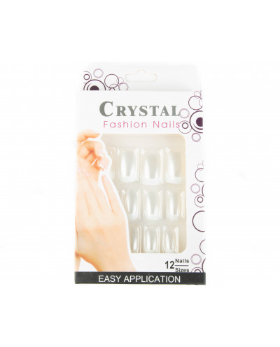 Crystal Fashion Nails — Faux ongles french manucure