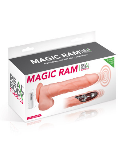 Vibromasseur réaliste Magic Ram