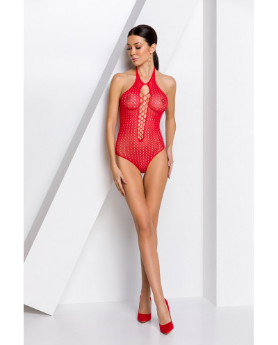 Body string résille BS088 (rouge)