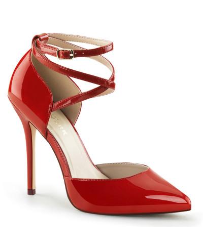 Escarpins d'Orsay Amuse-25 (rouge verni)