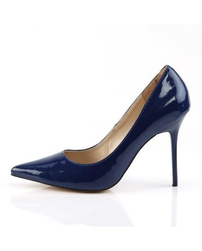 Escarpins Classique-20 (bleu marine)