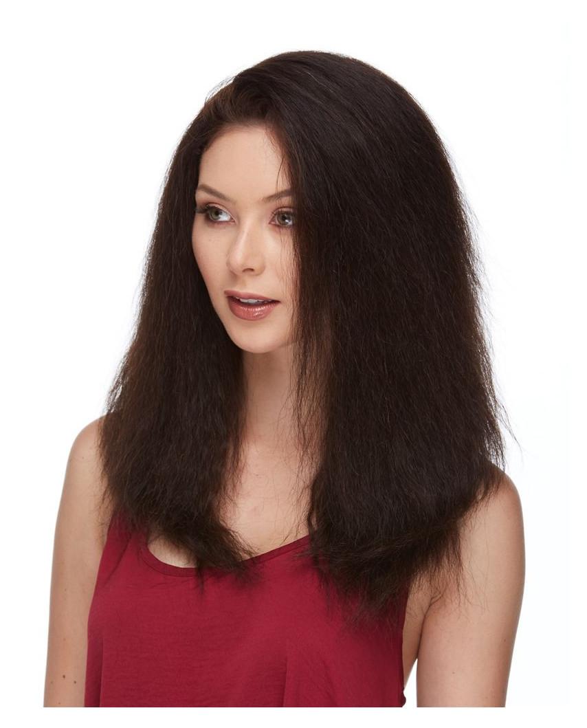 Eleganté — Perruque en cheveux 100% naturels et lace front Indiana