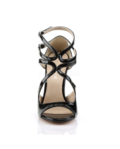 Pleaser — Sandales à lanières croisées et talons aiguilles Amuse-15