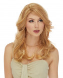 Eleganté — Perruque en cheveux 100% naturels longue Jasmine (blond)