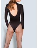 Gabriella — Collants résille avec couture Kabarette 155