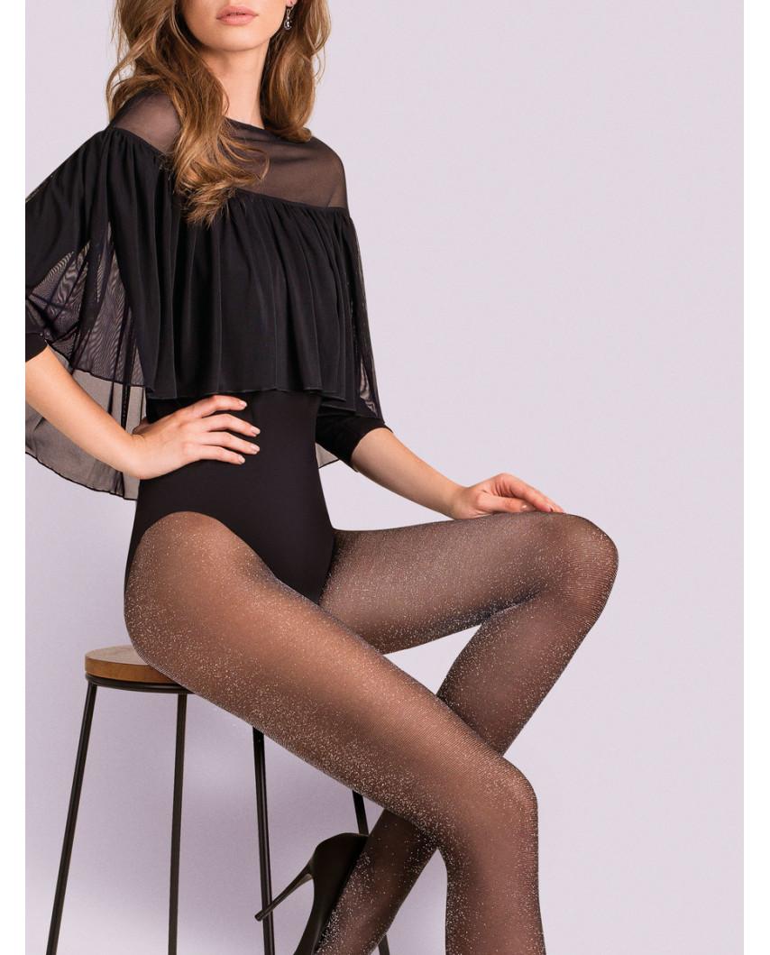 Gabriella — Collants scintillants et argentés Lurex