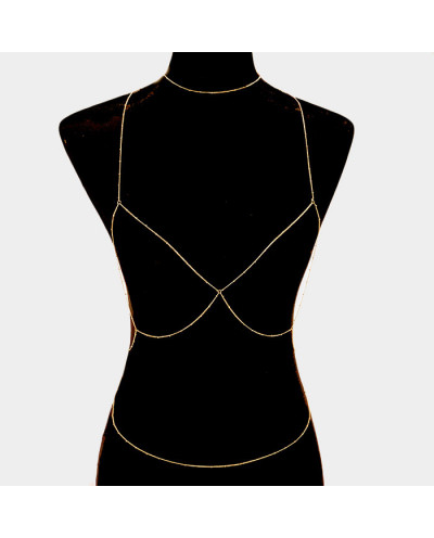 Fashion Jewelry — Chaîne de corps contour de poitrine