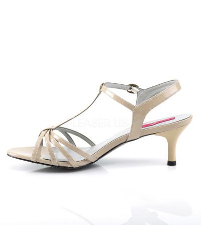 Pleaser — Sandales à brides à petits talons Kitten-06