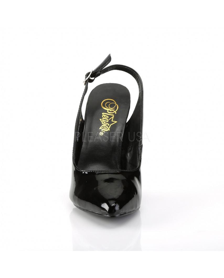 Pleaser — Sandales à bout pointu et bride arrières Seduce-317