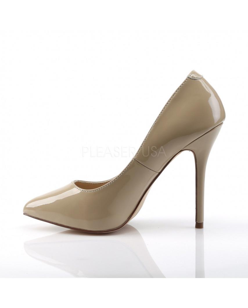 Escarpins stilettos à talons 10 centimètres et bout pointu Pleaser