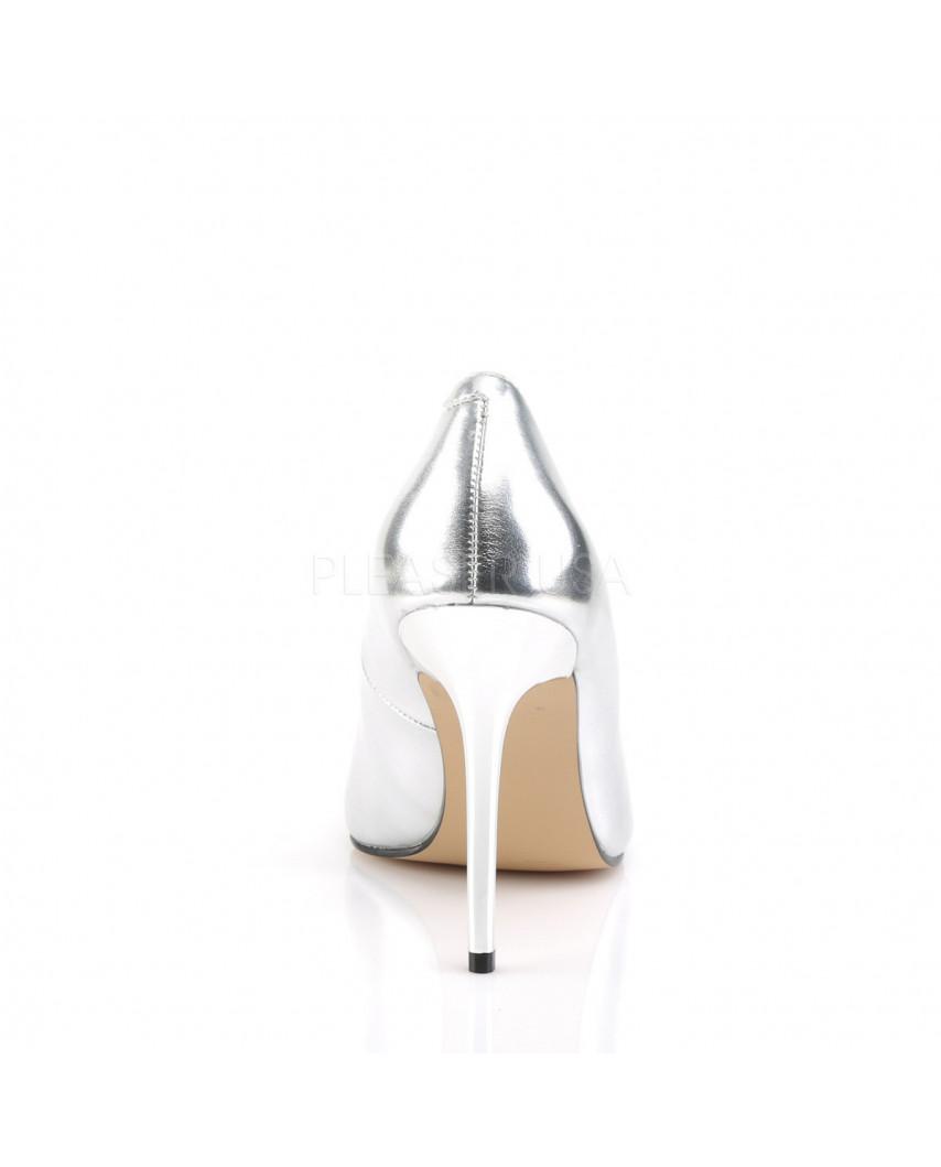 Pleaser — Escarpins classiques à bout pointu Classique-20 (argenté)