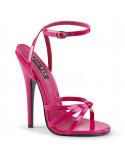 Devious — Sandales à talons extrêmes à bride Domina-108 (fuchsia)