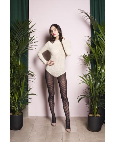 Gabriella — Collants à rayures horizontales Emma