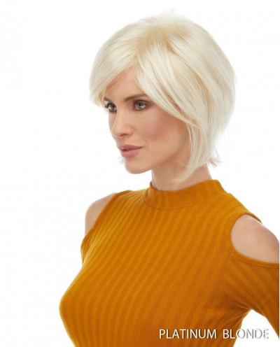Euronext — Perruque synthétique courte dégradé Raquel (blond platine)