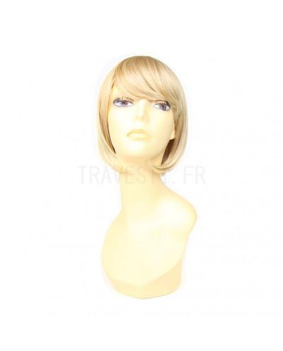 Mane Muse — Perruque synthétique courte au carré Petit (blond platine)