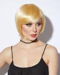 Blush — Perruque synthétique courte carré Mystic (blond)
