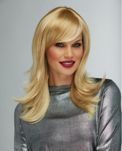 Blush — Perruque synthétique longue cheveux ondulés Hannah (blond)