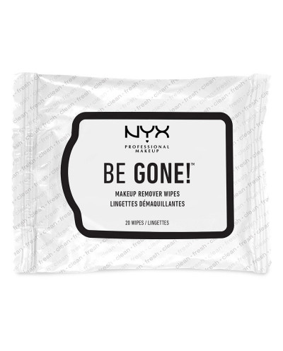 NYX — Lingettes démaquillantes Be Gone!