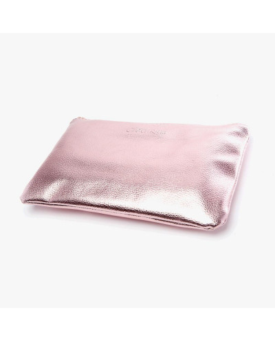 Beauty Creations — Trousse de 12 pinceaux de maquillage or rose Ballerina