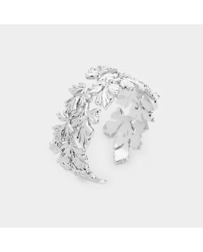 Bague ajustable couronne de feuilles