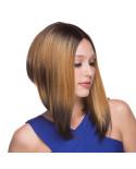Sepia — Perruque synthétique mi-longue et lace front Libby