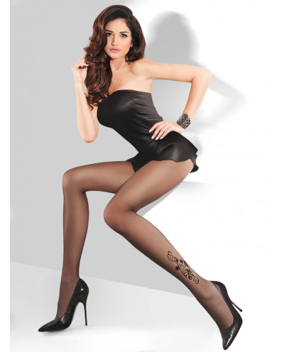 Gabriella — Collants effet tatouage 20 deniers Tonya