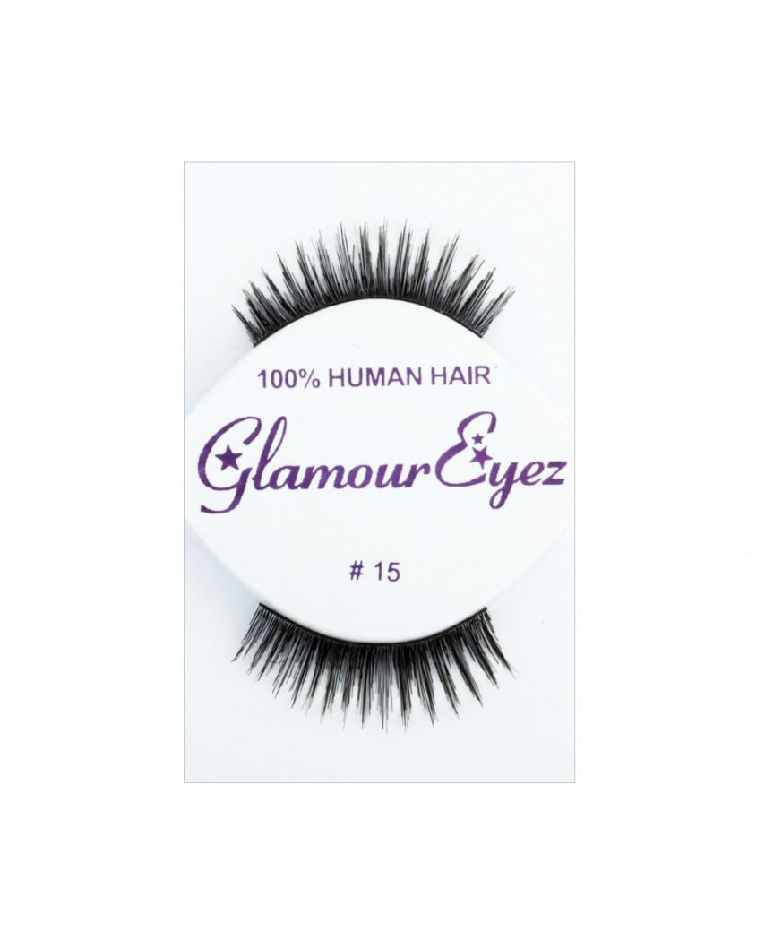 Glamour Eyez — Faux-cils naturels №15