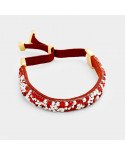 NahMu Jewelry — Bracelet ajustable à sangle orné de pierres
