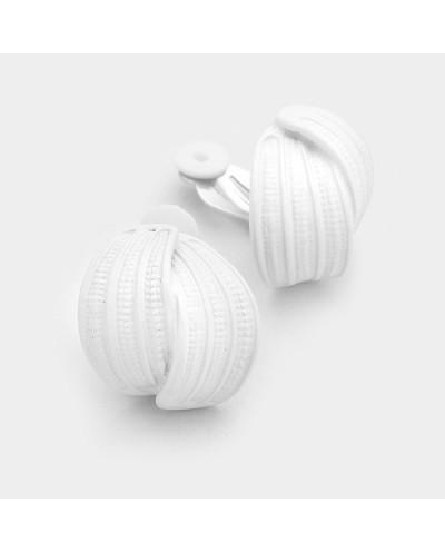 Fashion Jewelry — Boucles d'oreilles à clips finition métal laqué