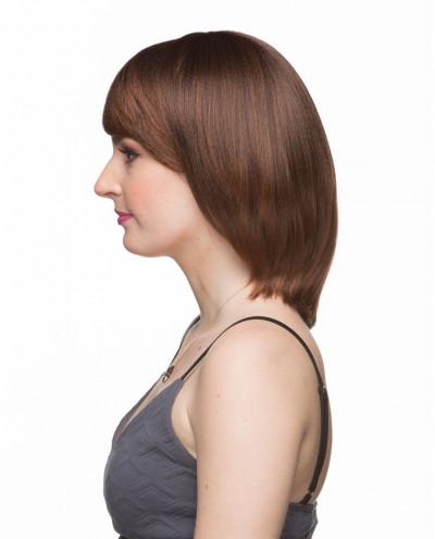 Mane Muse — Perruque synthétique mi-longue cheveux lisses Wendy